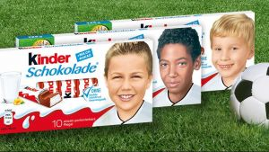 Kinderschokolade Nationalmannschaft