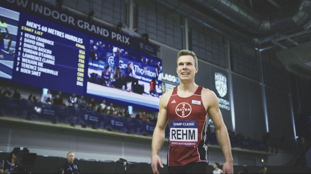 Markus Rehm gewann bei den Paralympics 2012 in London Gold