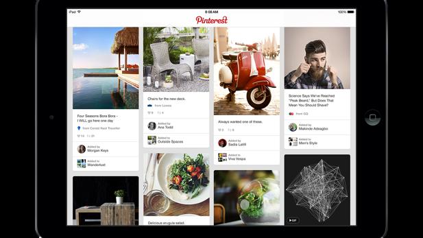 Fotodienst : Pinterest bringt Werbe-Pins nach Europa