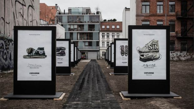 "Der Gewinner in der Kategorie Mediastrategie: ""Made by you"" von Converse"