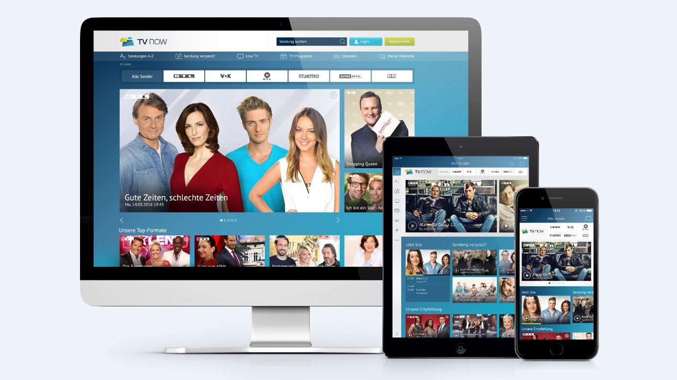 Tv now rtl b ndelt mediatheken unter einem dach for Rtl mediathek spiegel tv