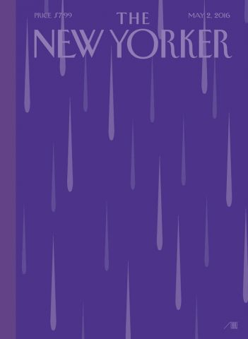 "Just Purple Rain: Die kommende Ausgbe des ""New Yorker"""
