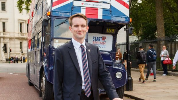 Matt Smith leitet StartUp Britain