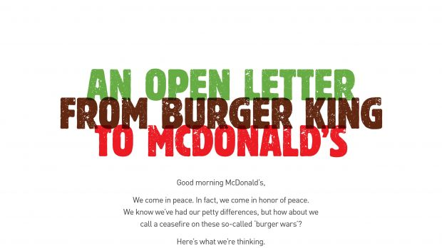 "Der Grand Prix in der Kategorie Print & Publishing: ""McWhopper"" für Burger King (Y&R Auckland)"