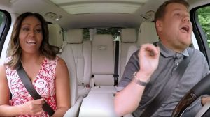 "Michelle Obama spielte mit James Corden ""Carpool Karaoke"""