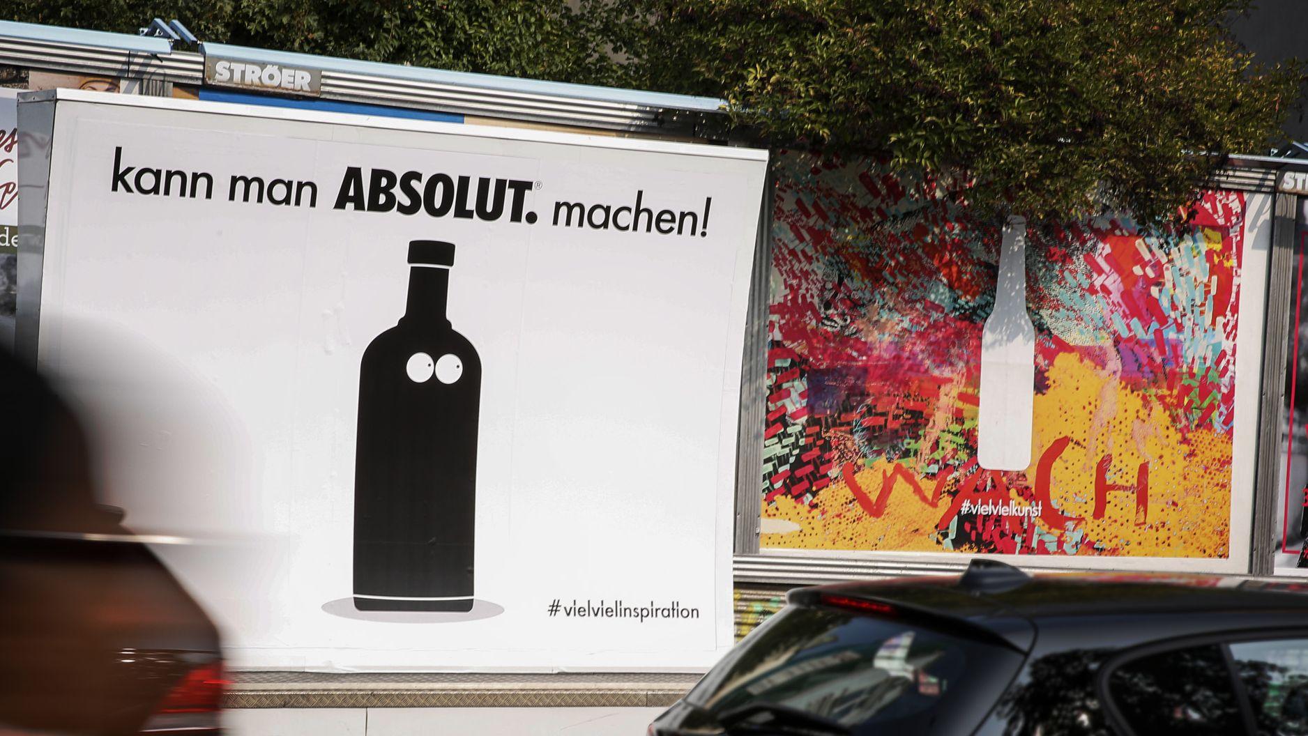 vielvielinspiration: So verulkt Absolut Vodka die Kampagne von Fritz ...