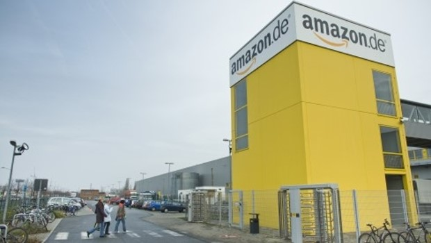 Das Amazon-Logistikzentrum in Leipzig