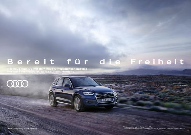 Audi: Wie der Q5 helfen soll, den perfekten Moment zu erleben