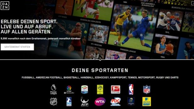 DAZN ging am 10. August an den Start