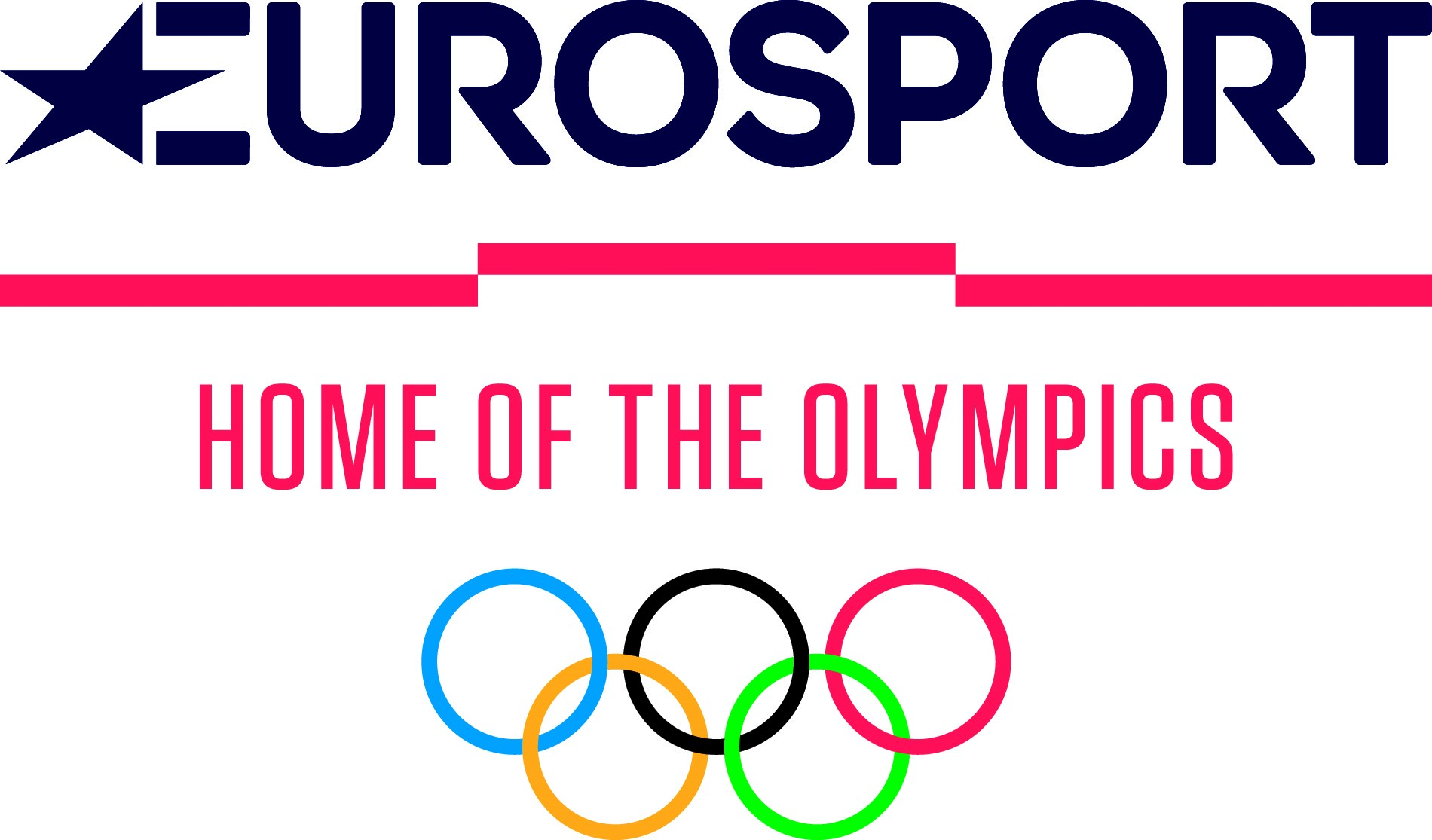 Home of the olympics eurosport f hrt olympia logo ein for Olympic homes