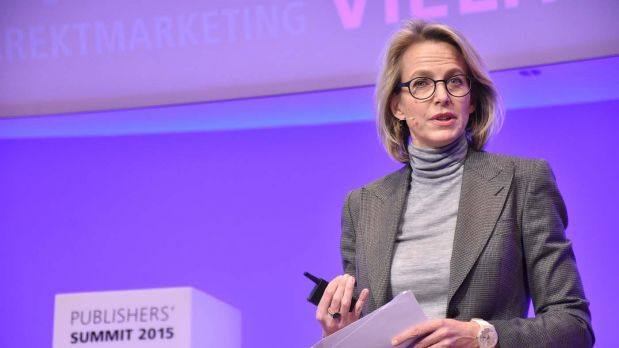 Julia Jäkel beim Publishers' Summit 2015