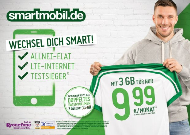 So wirbt Smartmobil in Out-of-Home