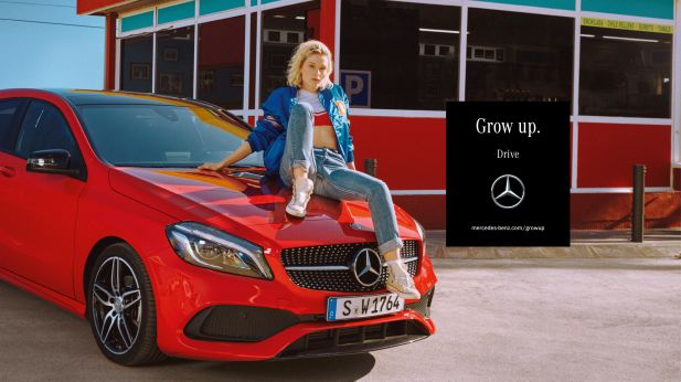 "Motiv aus der Kampagne ""Grow up"""