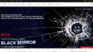 Netflix Black Mirror Adblocker