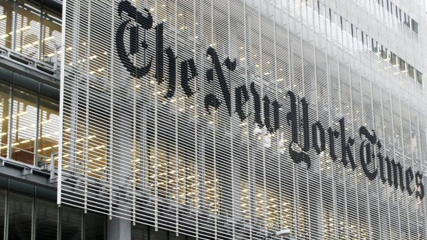 "In China unerreichbar: Die ""New York Times"""