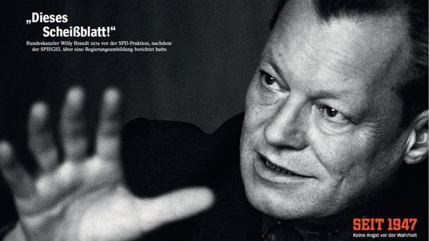 Dieses Scheißblatt Der Spiegel Feiert 70 Geburtstag Mit