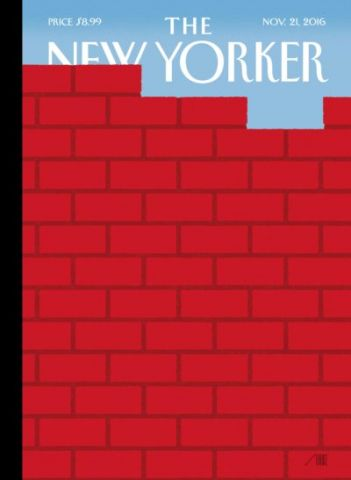 "The Wall: Das aktuelle Cover von ""The New Yorker"""