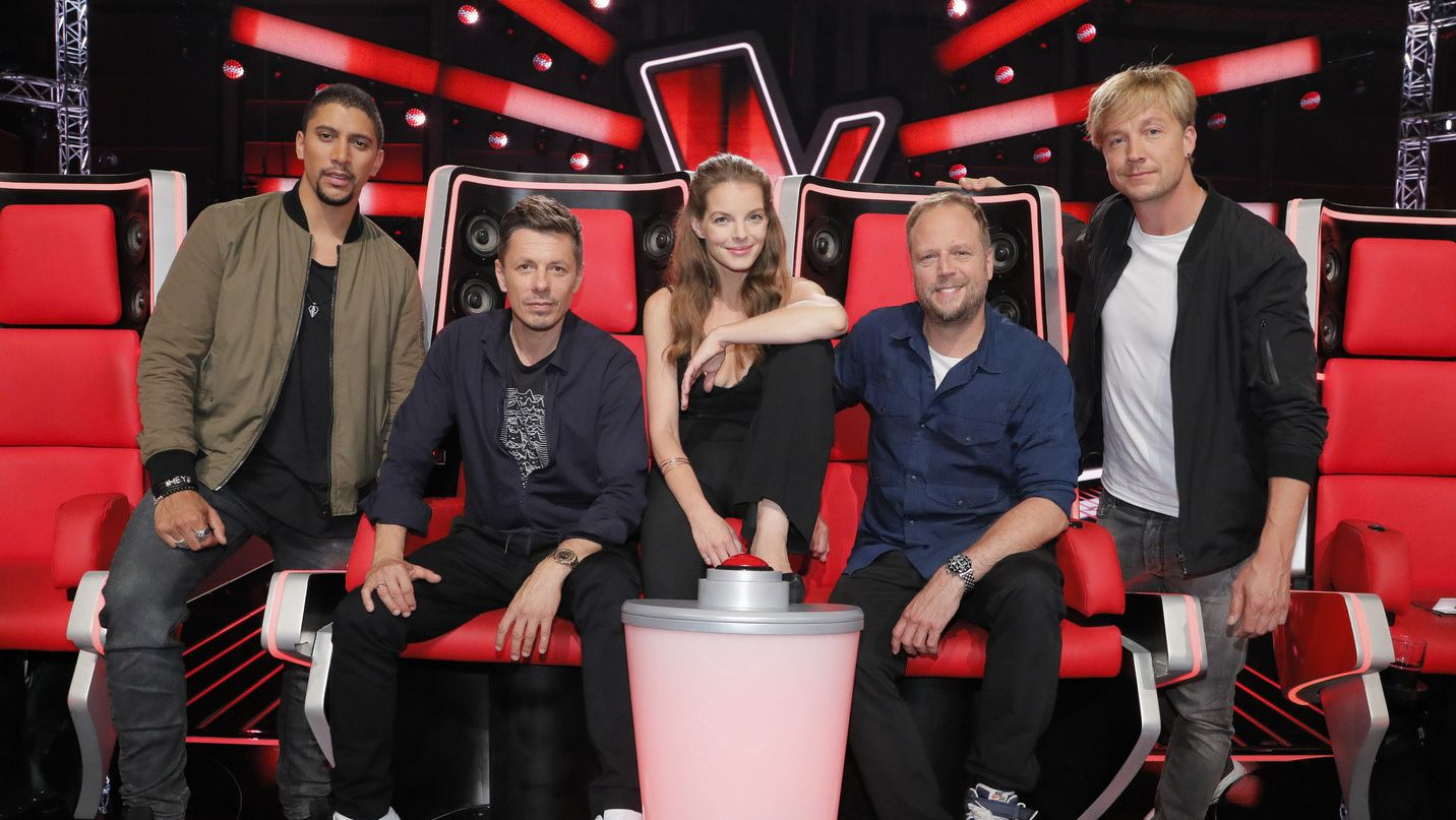 "Die neue Jury von ""The Voice of Germany"""