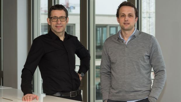 Thomas Port, Seven-One Media, und Jerome Cochet, Zalando Media Solutions, kooperieren in der Vermarktung