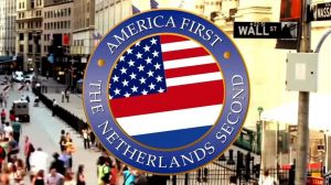 "America first - but the Netherlands second, fordert die Show ""Zondag met Lubach"""
