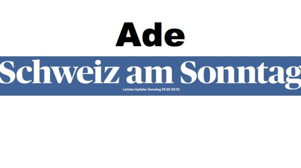 Schweiz am Sonntag\