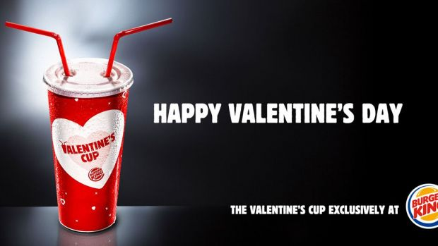 Burger King Valentine's Cup