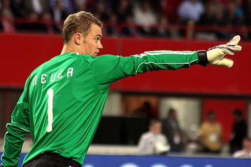 Manuel Neuer (Foto:  Steindy (Diskussion)  via Wikimedia Commons)