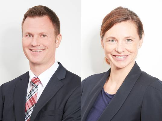 Senior Research Manager Torsten Brockmeyer und Diana Müller (Quelle: Maritz Research)