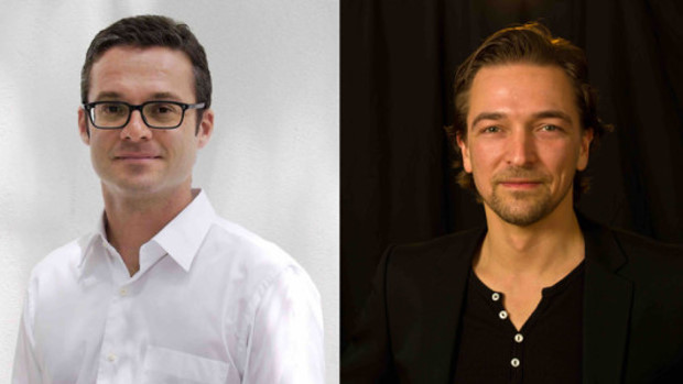 Christoph Urban (l.) wird Country Manager Magine TV Deutschland, Olaf Kroll Executive Vice President Magine Digital Media