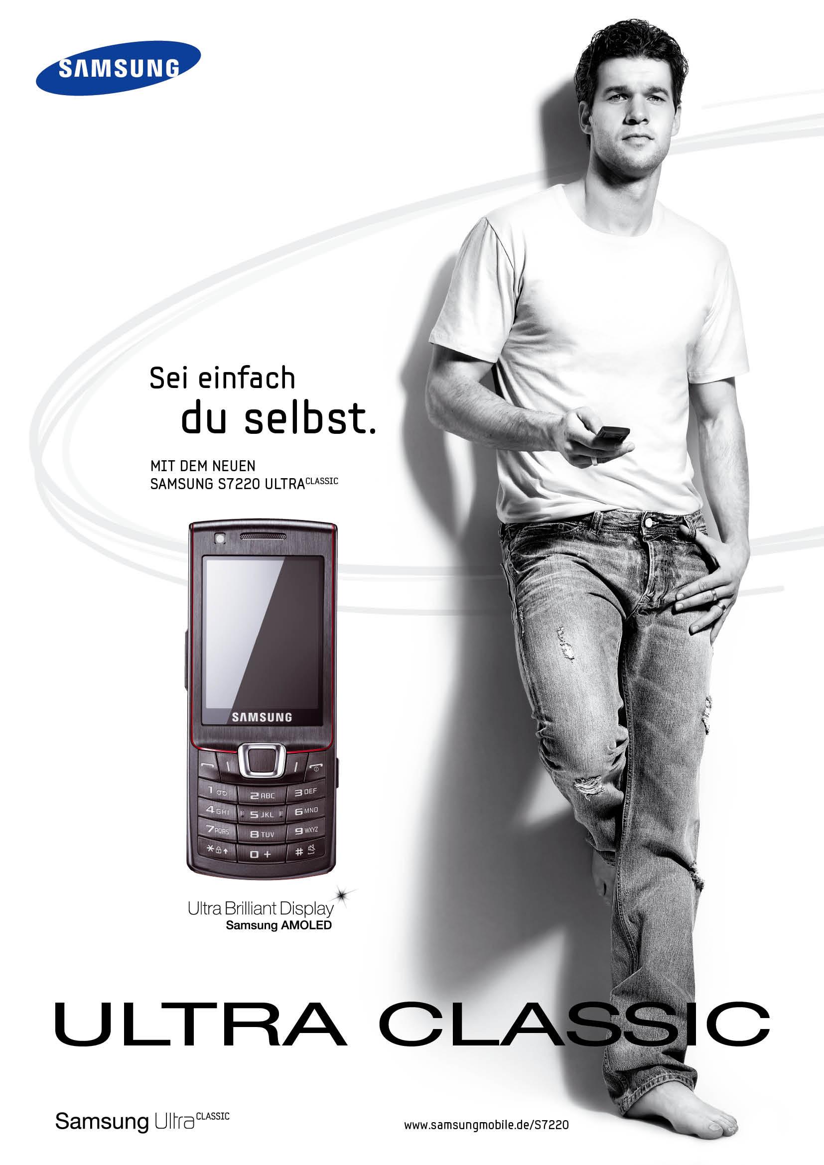 Michael Ballack Werbung