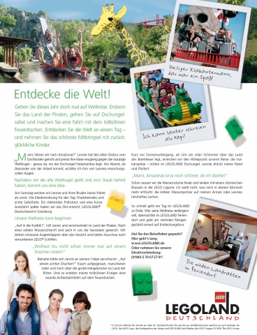 Advertorial für Legolang