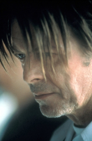 "David Bowie in ""The Hunger"""