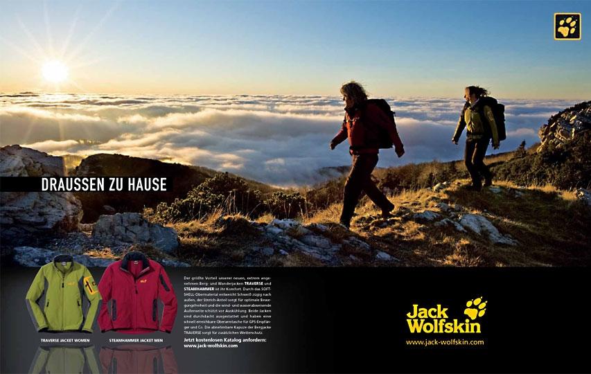 Jack Wolfskin erhöht Werbespendings