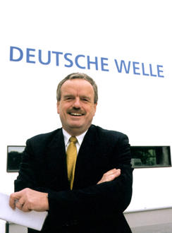 Erik Bettermann, Intendant der Deutschen Welle