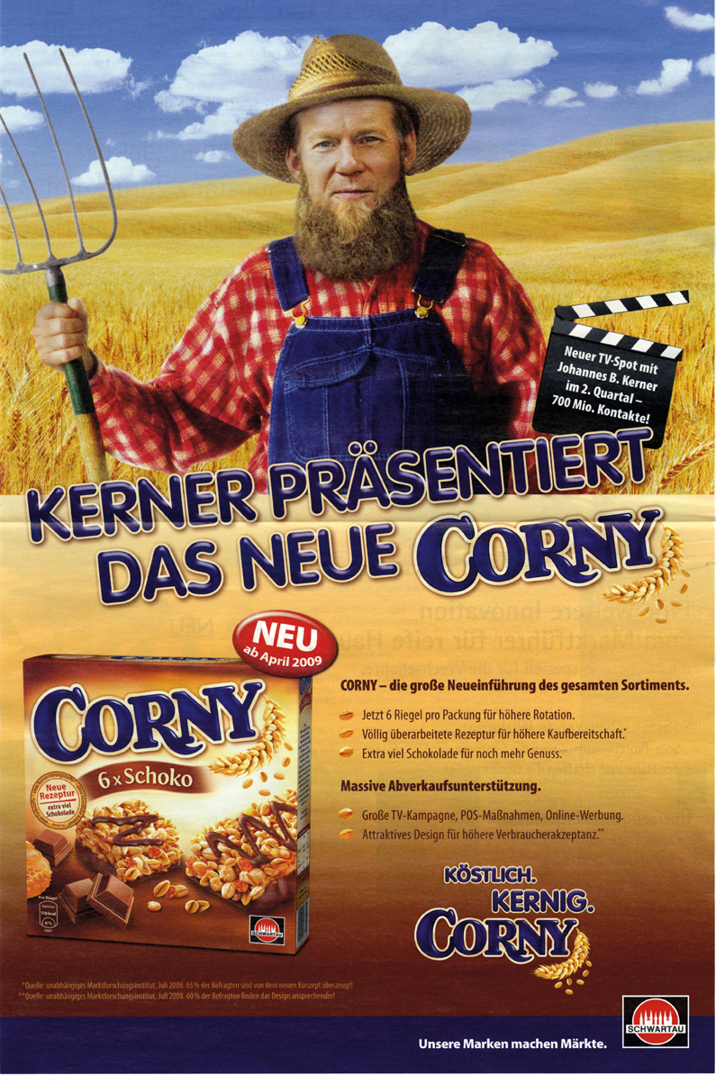 corny auf deutsch
