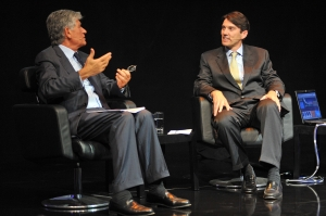 Maurice Levy (Publicis) und Tim Armstrong (AOL) (v.l.)