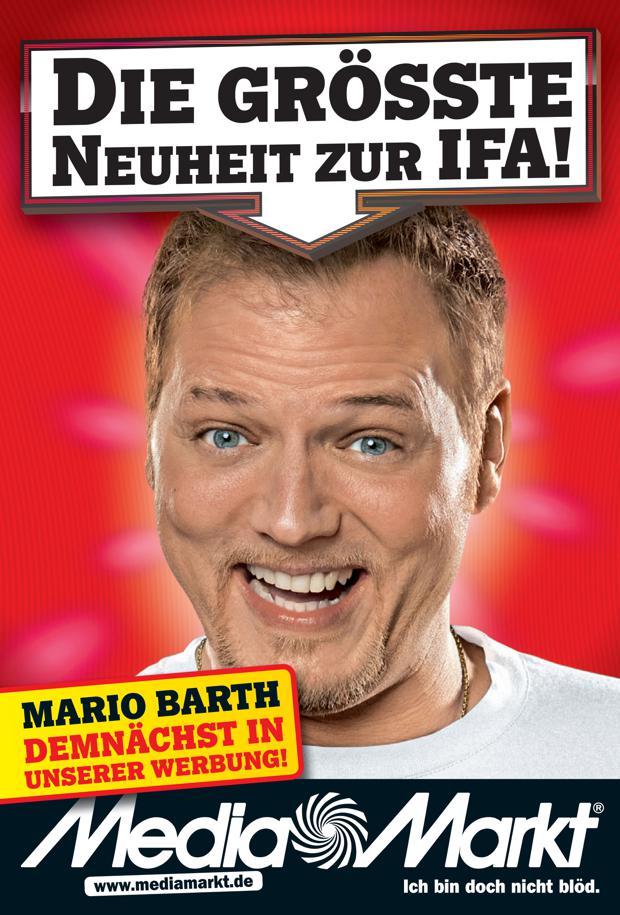 Werbung Mario Barth