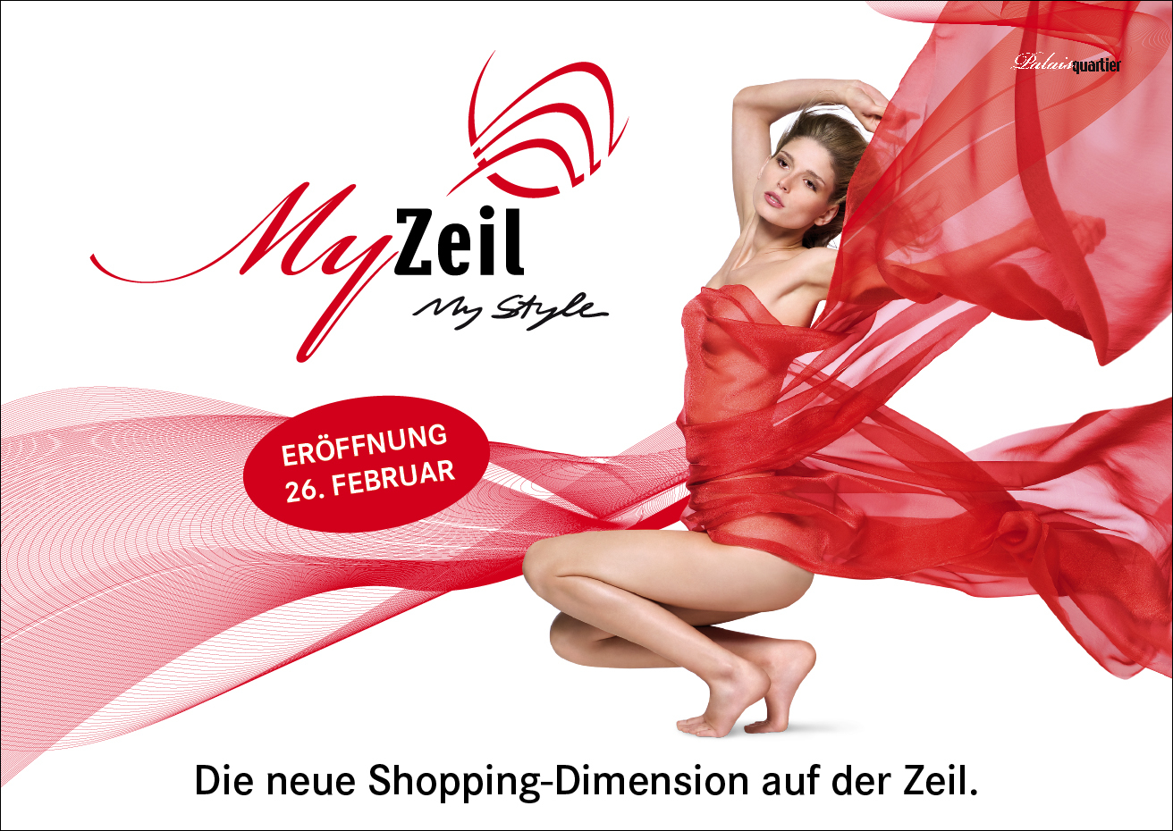 "Werbemotiv für Shopping-Center ""My Zeil"""