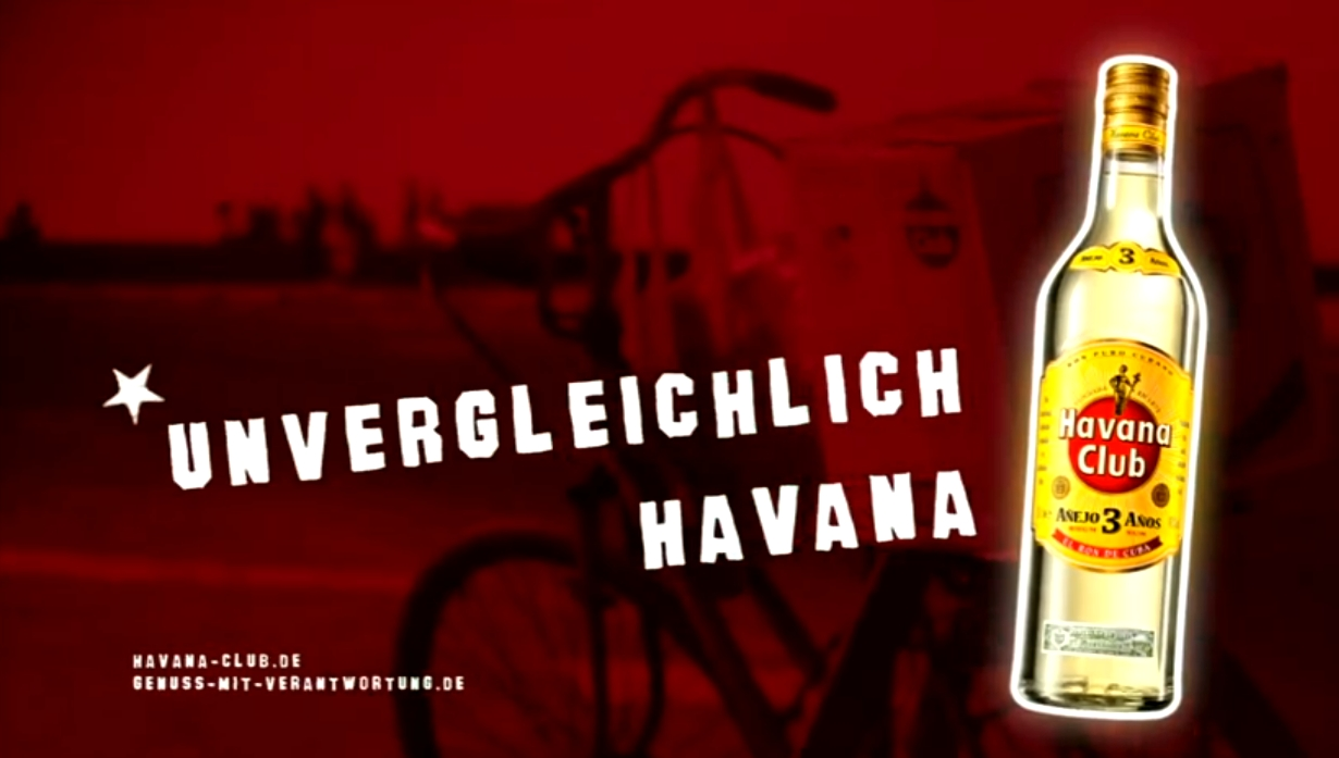 Der Havanna Club TV-Spot arbeitet effizient (Quelle: Havanna Club)