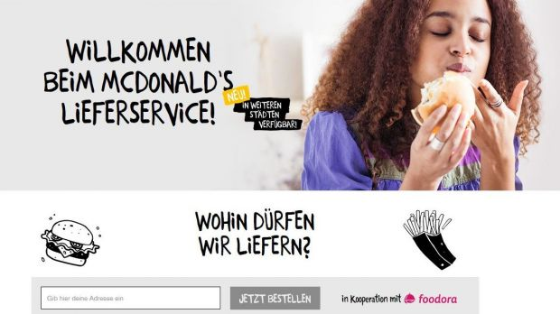 McDonald's will in 200 Restaurants Lieferservice anbieten