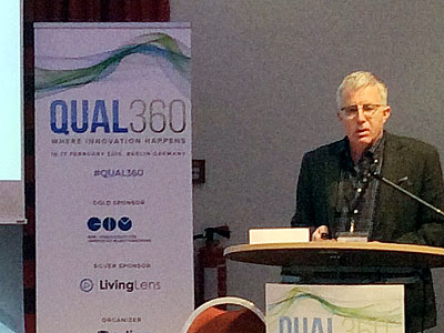 Robin Shuker, Field Agent, Head of Qual 360