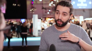 Tarek Müller im Video-Interview während des Online Marketing Rockstars Festival.