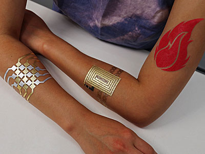Tattoos als Wearables