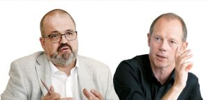 Uwe Storch (l.), OWM, und Martin Krapf, Screenforce