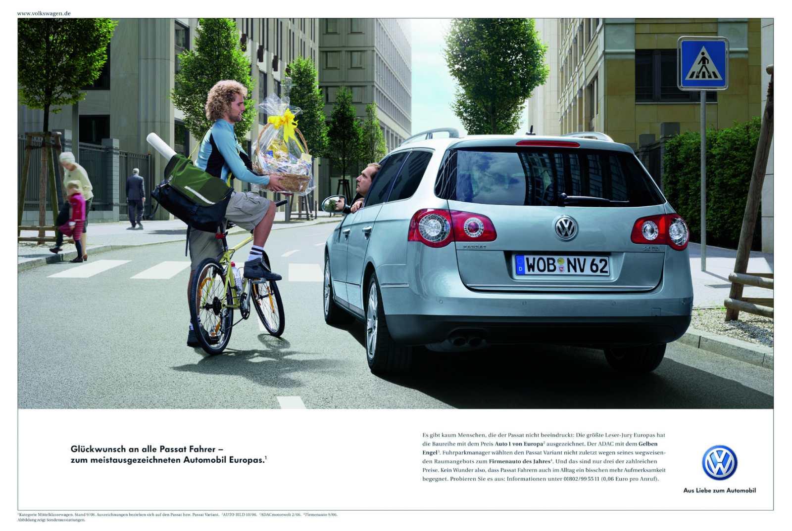 automobilwerbung vw mit interessantesten kampagnen