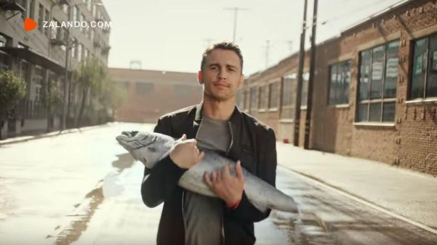 Zalando: Weshalb James Franco mit einem Fisch in L.A.