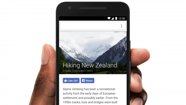 Instant Articles auf Facebook