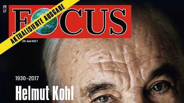 Focus 25/2017 Helmut Kohl