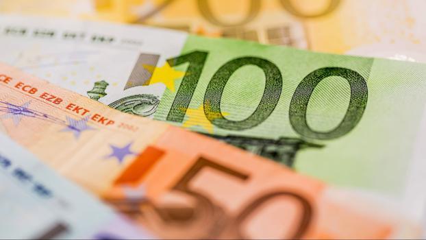 Gehalt Geld Lohn Geldscheine Banknoten