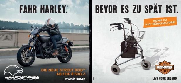 harley davidson sprüche Sassenbach Advertising: Braust mit Harley Davidson nun auch durch  harley davidson sprüche